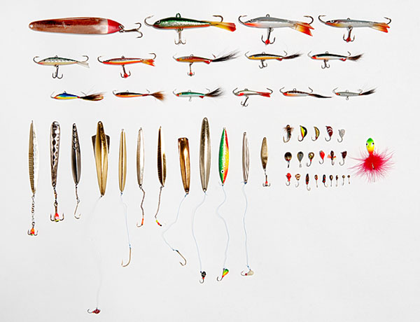 Ice fishing on the lakes of the tampere region finland for Lake trout ice fishing lures