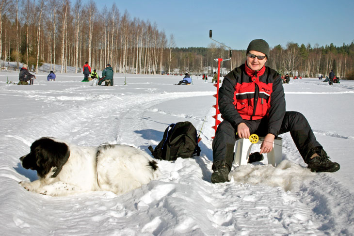 Spring Angler S Calendar For The Lakes Of The Tampere Region Finland